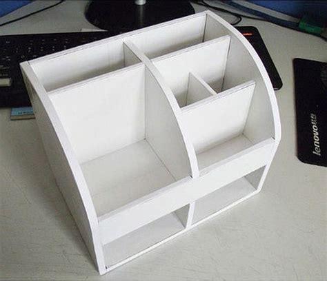membuat rak kecil dari kardus cara membuat rak alat tulis dari kotak yang cool