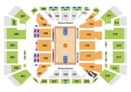 arena     arena seating