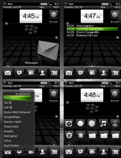 themes htc touch htc slide theme for blackberry storm crackberry com