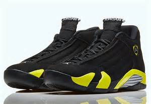 14s Jordans Air 14 Quot Thunder Quot Nikestore Release Info