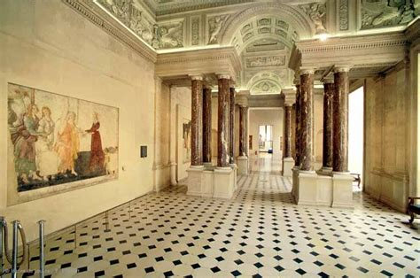 Salon Floor Plan Visitor Trails From Palace To Museum 800 Years Of