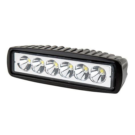Led Road Lights by Road Led Work Light Led Driving Light 6 Quot Rectangle 13w 1 300 Lumens Led Fog Lights