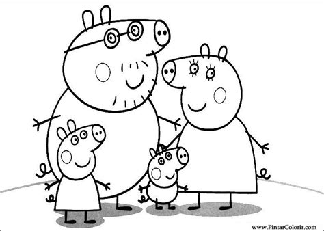 peppa pig cartoon coloring pages peppa pig 111 cartoons printable coloring pages