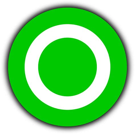 green wallpaper target free vector graphic target aim navpoint icon free