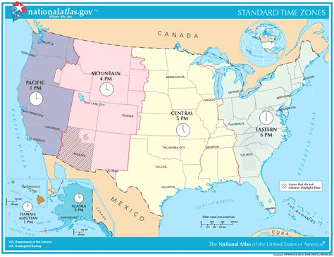 times zones in usa with the map map of time zones usa mapsof net