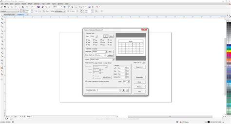 tutorial membuat vektor dengan corel draw tutorial membuat kalender dengan coreldraw x7 coreldraw