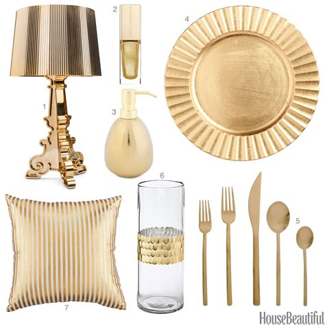 Gold Home Decor Accessories | light gold accessories light gold home decor