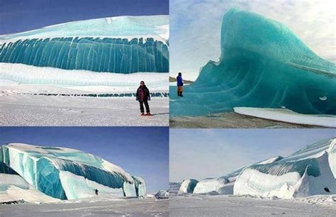 frozen waves frozen wave in antarctica fire and ice pinterest