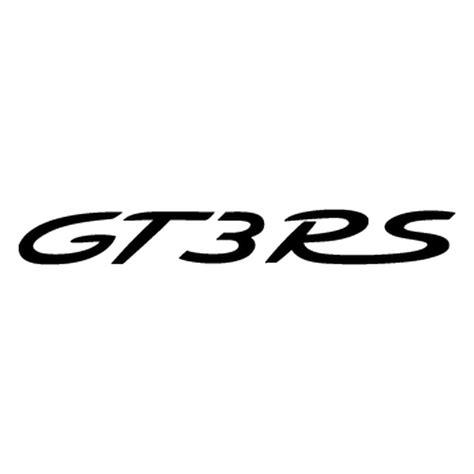 Porsche 911 Logo by Porsche 911 Gt3 Rs Logo Decal 2
