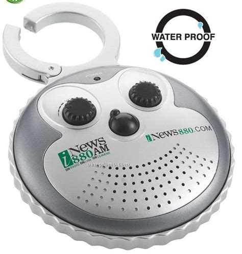 Bathroom Radio Mp3 Player The Waterproof Am Fm Waterproof Shower Radio W Clip China