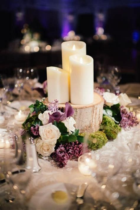 winter themed table decorations best 25 purple winter weddings ideas on