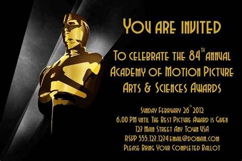 academy awards 2013 pictures videos breaking news oscar party invite hmh designs