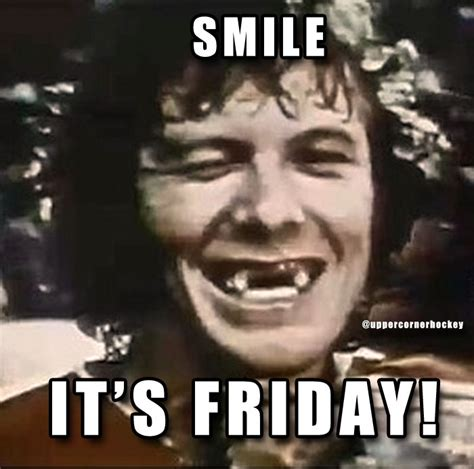 smile its friday meme memes