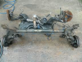 Rear Axle Peugeot 206 Peugeot 206 Rear Axle With Abs