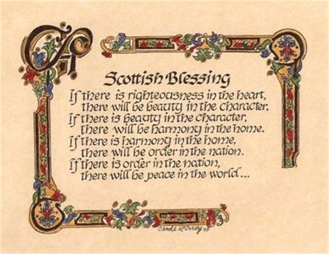 scottish blessing scottish sayings quotes and signs