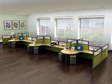office desk configuration ideas best 25 office cubicle design ideas on