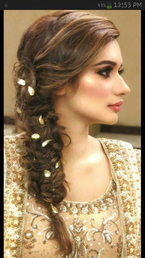 pakistani hair plait flower braid hairstyless pinterest hair style
