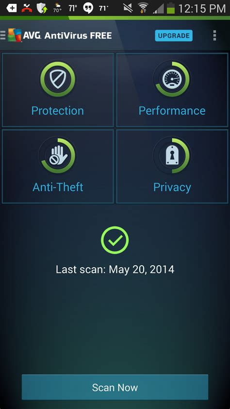 free antivirus for android tablet avg antivirus security 4 free for android review rating pcmag