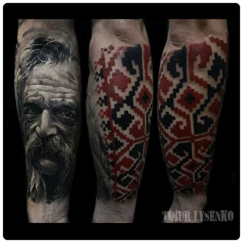 ukrainian tribal tattoos realistic ukraine design redberry studio