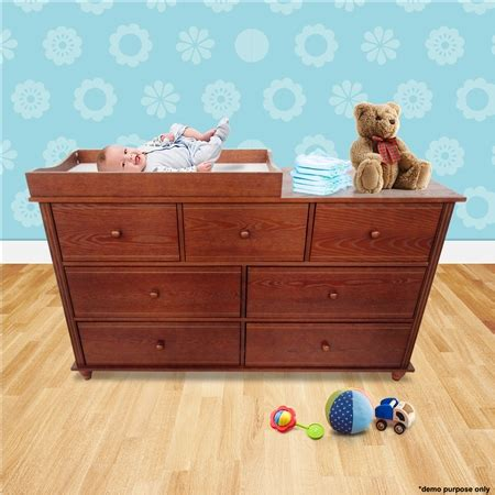 Walnut Baby Changing Table With Four Drawers Small Crazy Baby Changing Table With Drawers