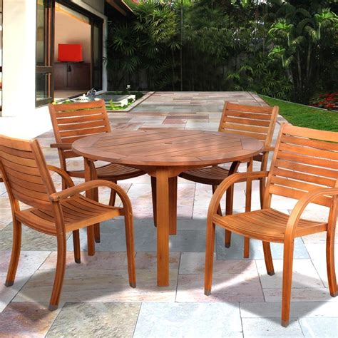 Eucalyptus Patio Furniture Care Chairs Seating Chair Care Patio