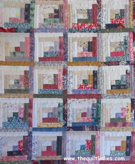 Free Log Cabin Quilt Patterns by The Quilt Book Collection Free Mini Log Cabin