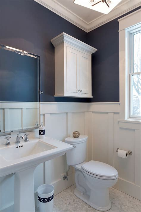 navy and white bathroom luxurious cottage interiors home bunch interior design ideas