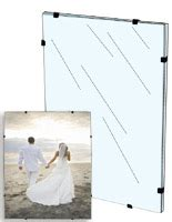 frameless picture hanging frameless frames clear acrylic glass poster holders