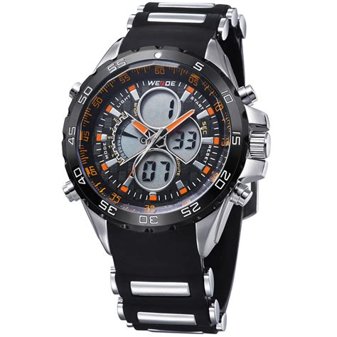 Weide Japan Quartz Silicone Sports Wh3405 weide japan quartz silicone led sports 30m water resistance wh1103 eiws05or