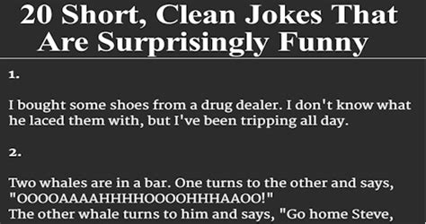 20 Jokes About by 20 Clean Jokes That Are Surprisingly