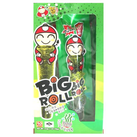 Tao Kae Noi Roll Spicy Squid 3 6g tao kae noi co pte ltd