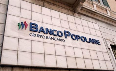welfare banco popolare banco popolare bpm ci siamo quasi fusione dietro l angolo