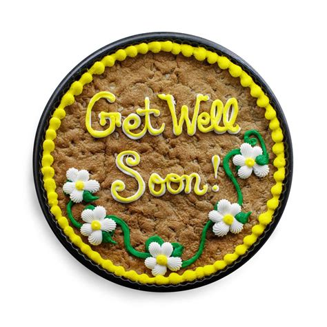 get well soon cookie cake the great cookie