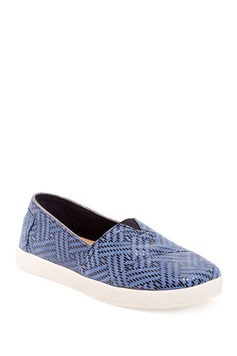 nordstrom toms shoes toms avalon leather slip on nordstrom rack