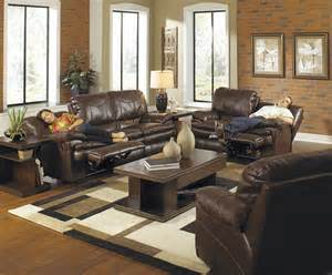 reclining living room set perez chestnut power reclining living room set from catnapper 64141100000000000 coleman
