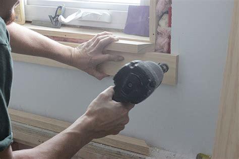 Window Stool Installation by How To Install Craftsman Style Window Trim School Of