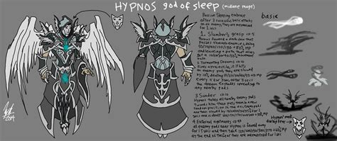 The Sleeping God by Hypnos God Of Sleep God Concept By Timelordjikan On