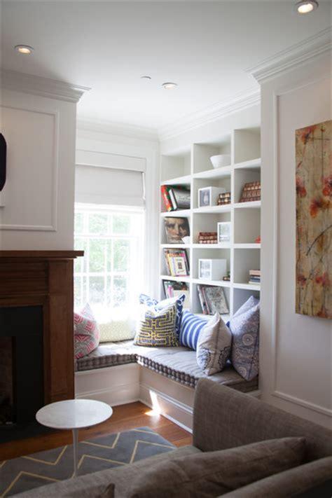Zigzag Bookcase Nook Photos 3 Of 19 Lonny