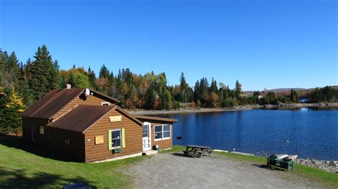 Cgrounds In Nh With Cabin Rentals by Ramblewood Cabins Cground In Pittsburg Nh