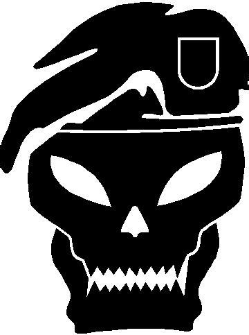 Aufkleber Totenkopf Schwarz by Skull Decals Black Ops Skull Decal Sticker