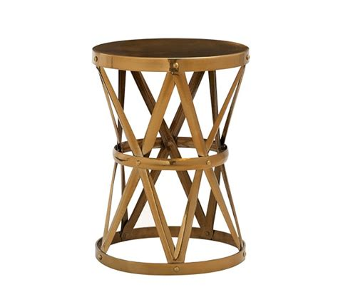 Jardan Side Table Metal Side Table Pottery Barn