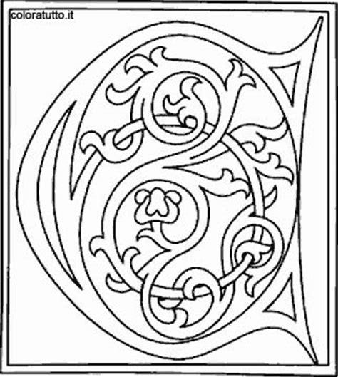 alfabeto celtico lettere alfabeto celtico 3 disegni per bambini da colorare