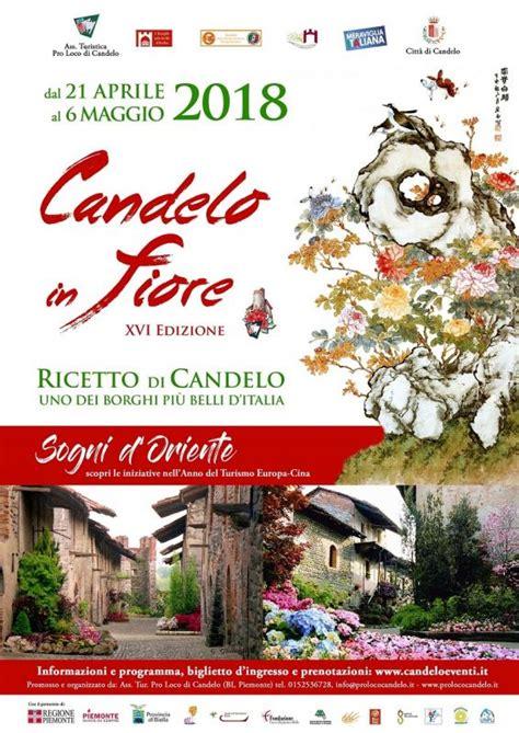 candelo eventi candelo in fiore candelo bi 2018 piemonte eventi e sagre
