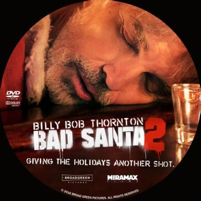 Bad Cover California 7 bad santa 2 dvd covers labels by covercity