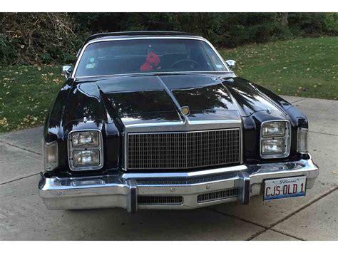 1978 chrysler cordoba 1978 chrysler cordoba for sale classiccars cc 738561