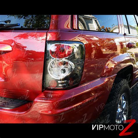 1999 jeep grand cherokee tail light 1999 2004 jeep grand cherokee black led signal tail light