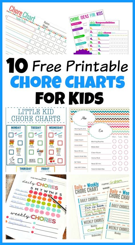 Printable Chore List