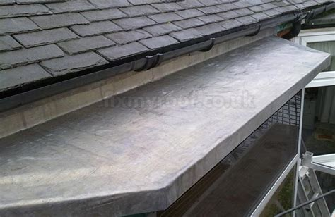 how to lead your how to fit a new lead roof to a bay replace your lead bay roof