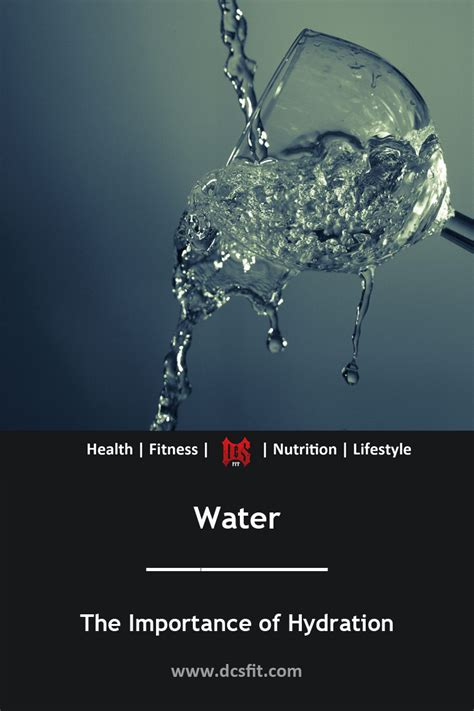 hydration p water the importance of hydration for fitness