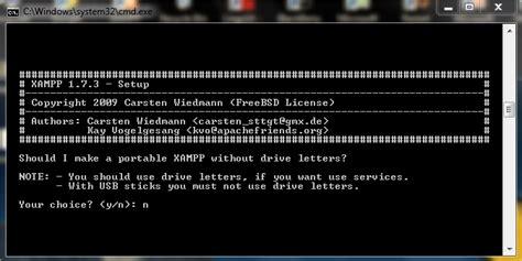 membuat database mysql menggunakan command prompt cara instal xp dan membuat database live is adventure